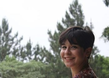 Foto da Samirah no sítio